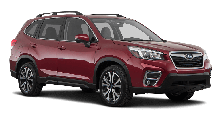 2021 Subaru Forester Limited - Crimson Red