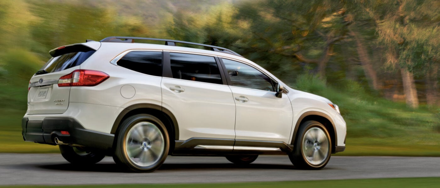 2021 Subaru Ascent in white