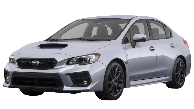 2020 WRX Limited in silver