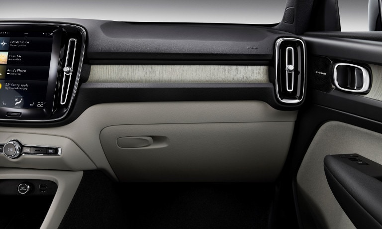 New Volvo XC40 interior features