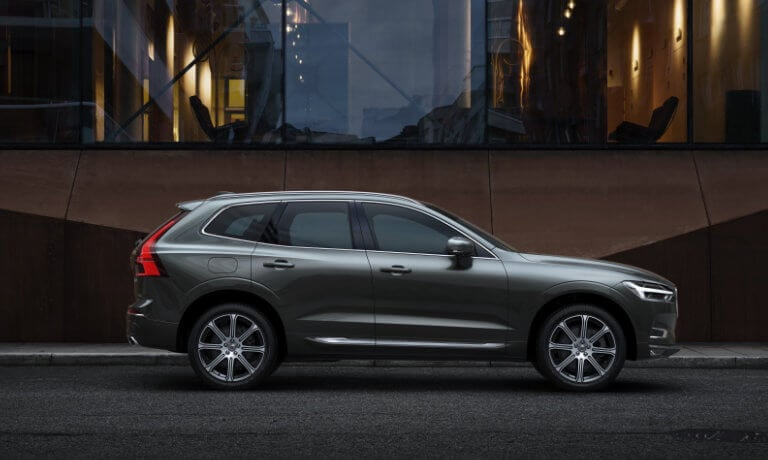 2021 Volvo XC60 exterior outside contemporary building