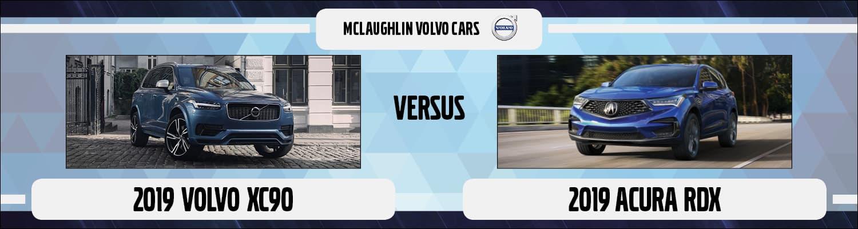 2019 Volvo Xc90 Vs Acura Rdx Suv Comparison Moline Il