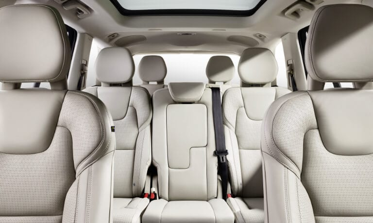2020 Volvo XC90 Interior rear cabin view
