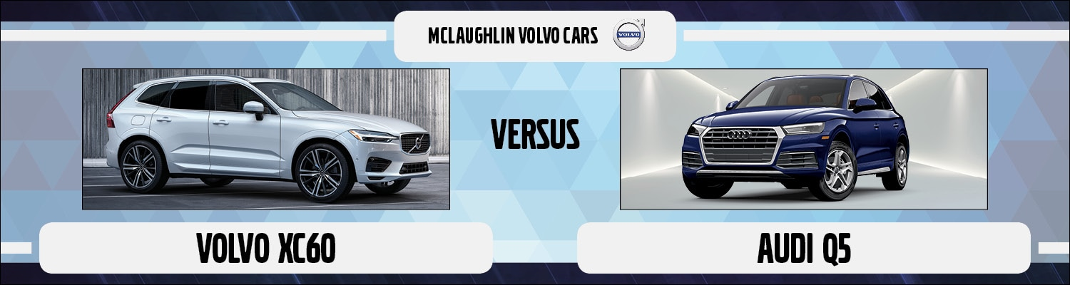 Comparison of the Volvo XC60 & Audi Q5