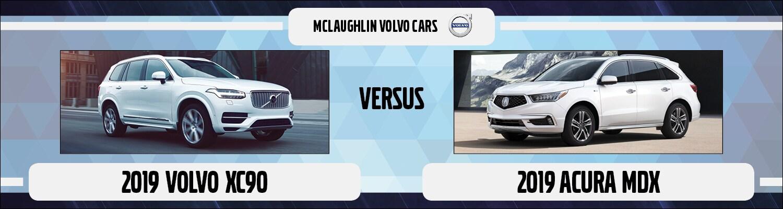 2019 Volvo XC90 vs. Acura MDX