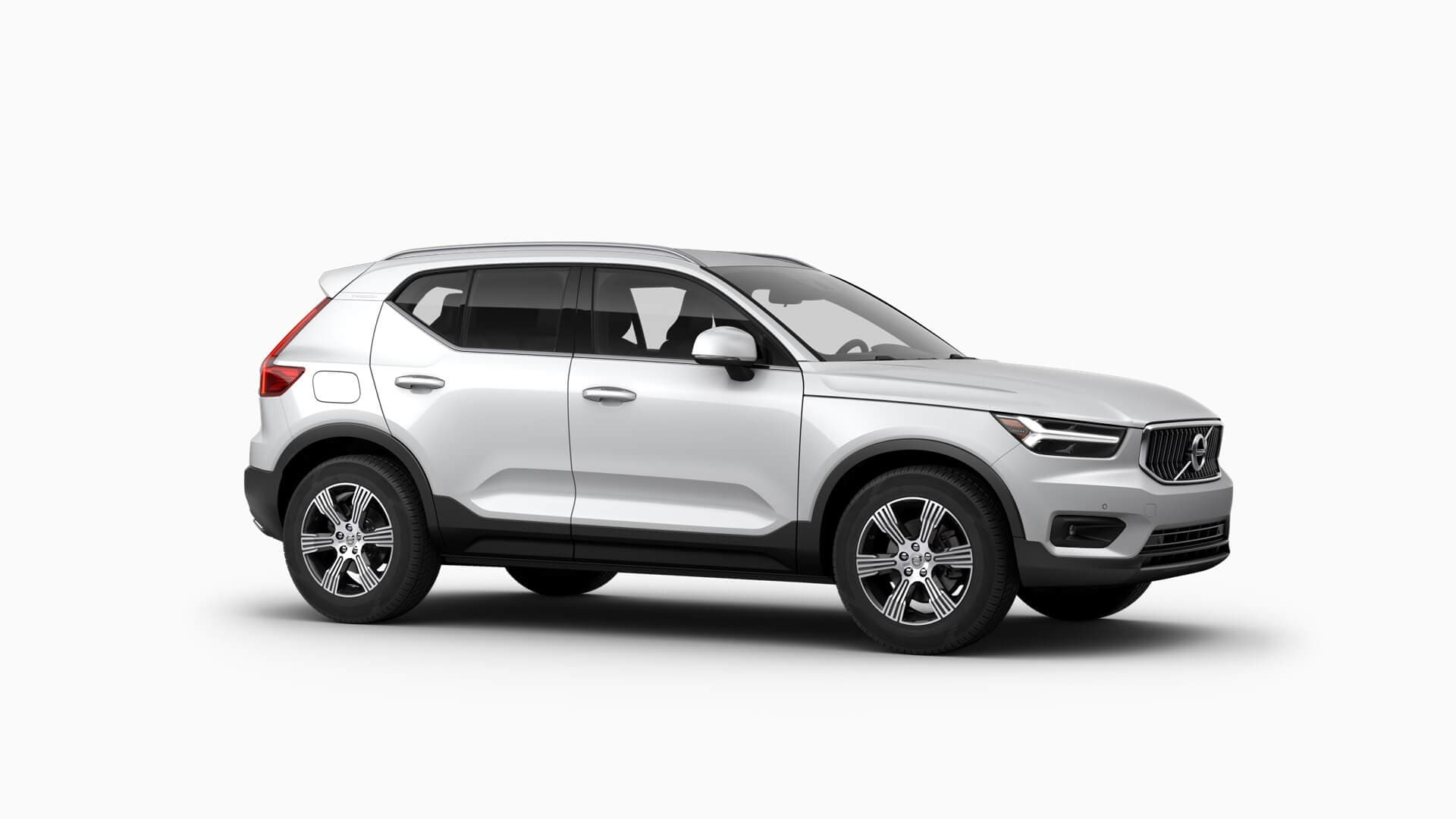 White 2019 Volvo XC40 Inscription exterior view