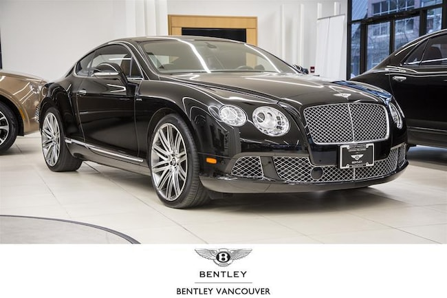 2013 Bentley Continental GT Speed *Fully Serviced & Bentley Certified! Coupe