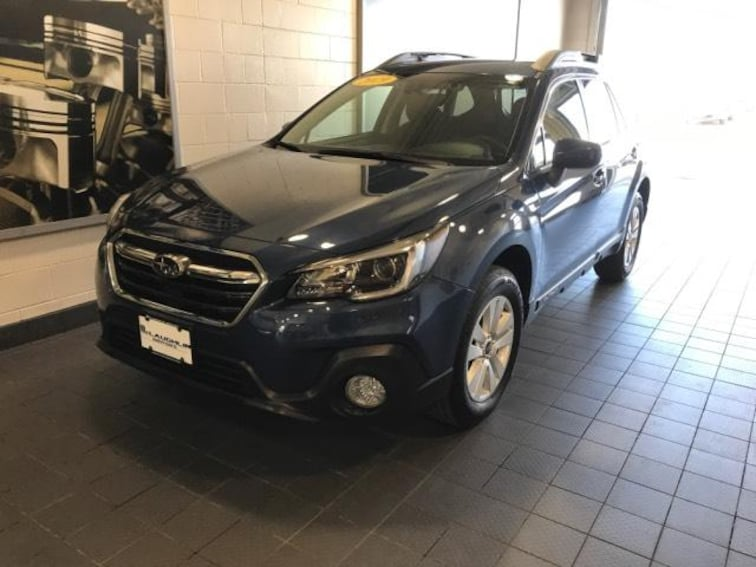 Certified Pre-Owned 2019 Subaru Outback 2.5i Premium Sport Utility For Sale Moline, IL