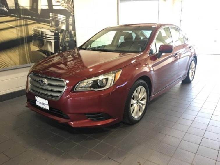 Certified Pre-Owned 2016 Subaru Legacy 4dr Sdn 2.5i Premium Car For Sale Moline, IL
