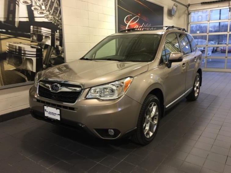 Certified Pre-Owned 2016 Subaru Forester 4dr CVT 2.5i Touring Pzev Sport Utility For Sale Moline, IL