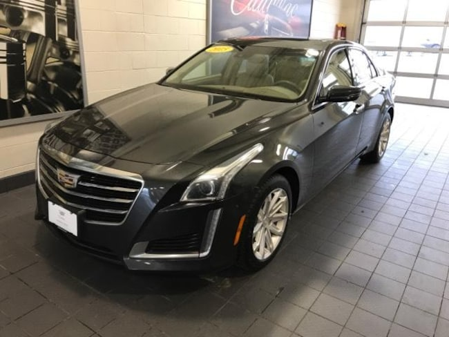 2015 Cadillac CTS 4dr Sdn 2.0L Turbo Luxury AWD Car
