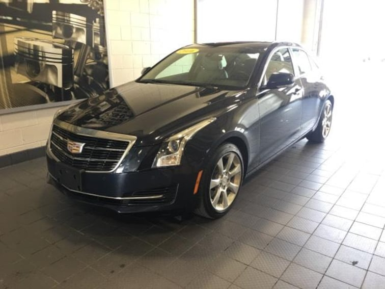 Certified Pre-Owned 2016 Cadillac ATS 4dr Sdn 2.0L Luxury Collection AWD Car For Sale Moline, IL