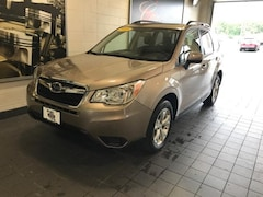 Certified Pre-Owned 2015 Subaru Forester 4dr CVT 2.5i Premium Pzev Sport Utility for sale in Moline, IL