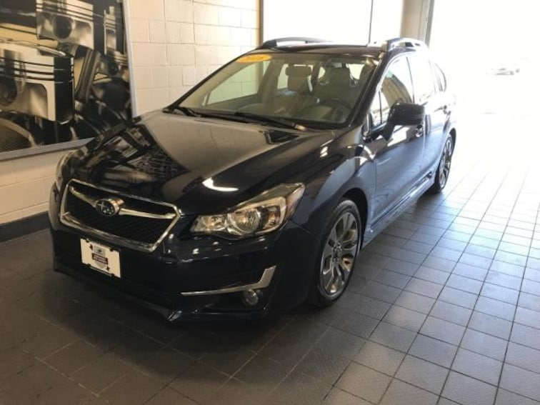 Certified Pre-Owned 2016 Subaru Impreza 5dr CVT 2.0i Sport Limited Car For Sale Moline, IL