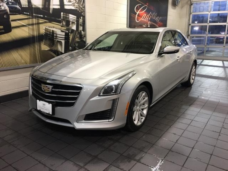 Used 2015 Cadillac CTS 4dr Sdn 2.0L Turbo Luxury AWD Car Molina IL
