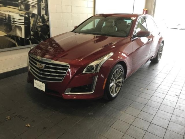 Certified Pre-Owned 2017 Cadillac CTS 4dr Sdn 2.0L Turbo Luxury AWD Car For Sale Moline, IL
