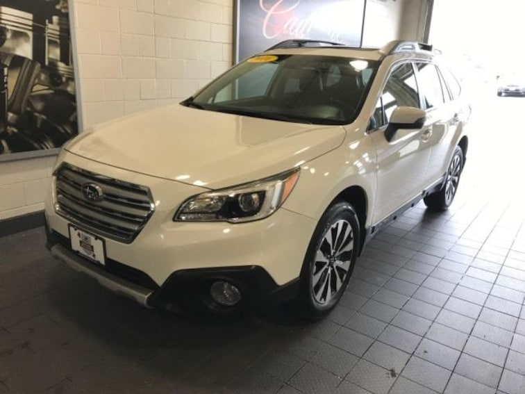 Certified Pre-Owned 2016 Subaru Outback 4dr Wgn 2.5i Limited Sport Utility For Sale Moline, IL