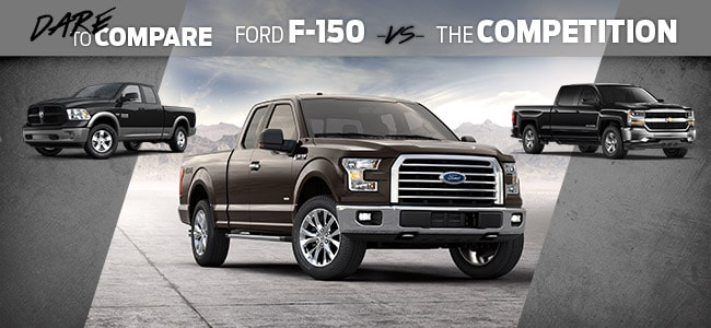 F-150 vs. the Competition