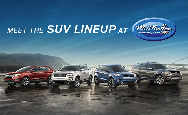 Ford SUVs and Crossovers