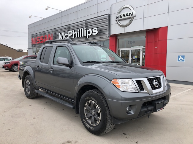 2016 Nissan Frontier PRO 4X LOCAL ONE OWNER TRADE Truck Crew Cab