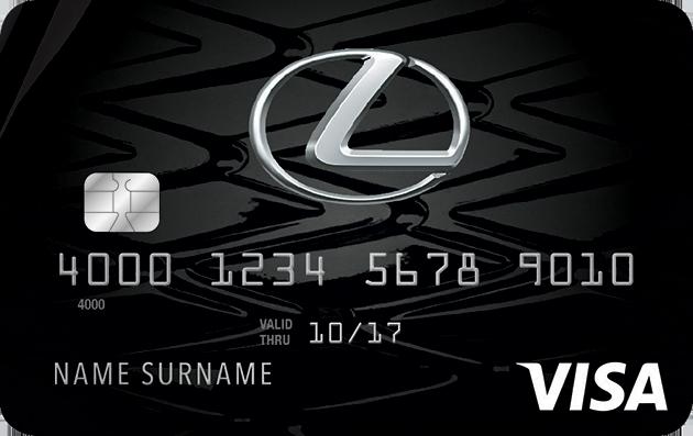 Lexus Pursuits Visa