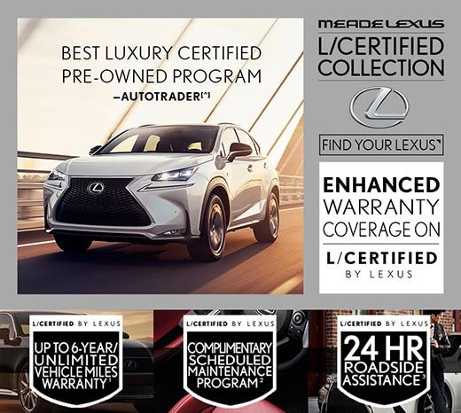 Lexus certified program