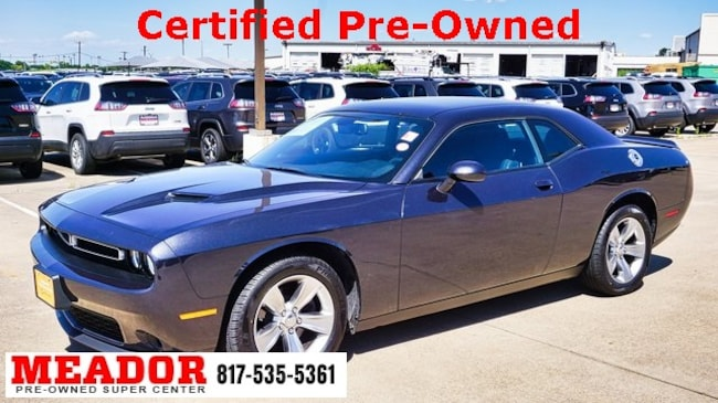 Certified Used 2018 Dodge Challenger SXT Coupe in Fort Worth, TX