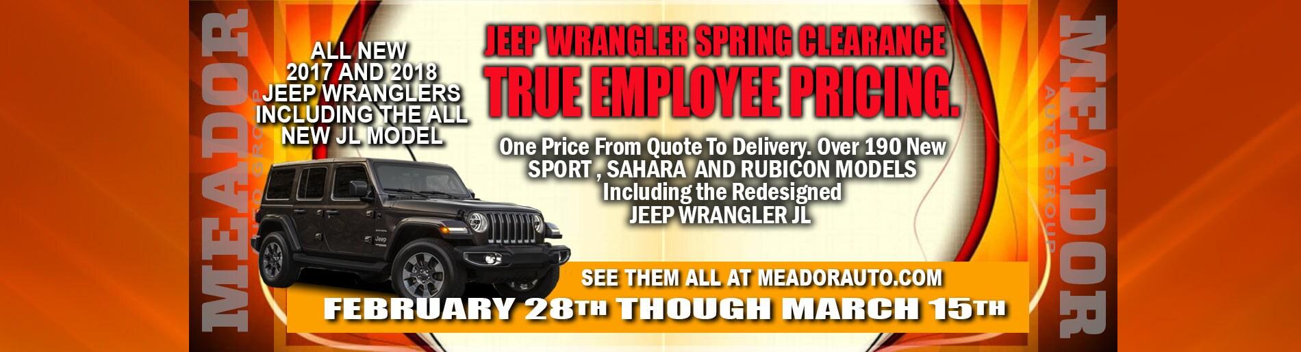 Fort Worth TX Meador Dodge Chrysler Jeep Ram Dealer New Used - Closest chrysler dealer