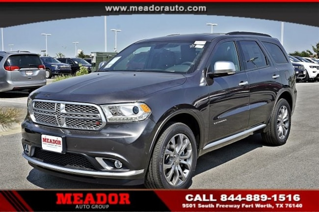 New 2018 Dodge Durango Citadel SUV for sale in Fort Worth, TX