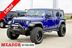 New 2018 Jeep Wrangler UNLIMITED SPORT S 4X4 Sport Utility in Fort Worth, TX
