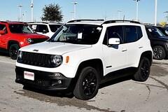 New 2018 Jeep Renegade ALTITUDE 4X2 Sport Utility ZACCJABB0JPJ49676 in Fort Worth, TX