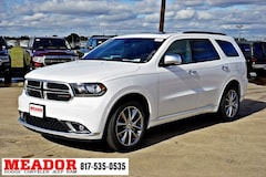 New 2019 Dodge Durango CITADEL ANODIZED PLATINUM RWD Sport Utility 1C4SDHET0KC534857 in Fort Worth, TX