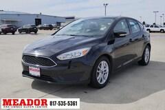 Bargain Used 2017 Ford Focus SE Hatchback in Fort Worth, TX