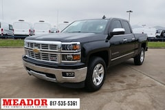 Certified Pre-Owned 2015 Chevrolet Silverado 1500 LTZ Truck Double Cab in Fort Worth, TX