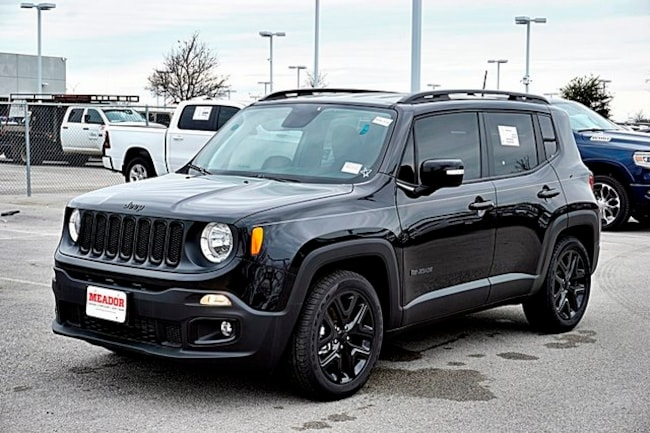 New 2018 Jeep Renegade ALTITUDE 4X2 Sport Utility For Sale Fort Worth, TX
