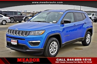 New 2018 Jeep Compass SPORT FWD Sport Utility for sale in Fort Worth, TX