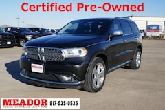 Certified Pre-Owned 2015 Dodge Durango SXT SUV in Fort Worth, TX