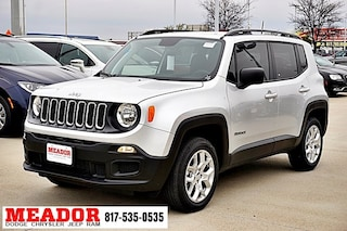 New 2018 Jeep Renegade SPORT 4X4 Sport Utility for sale in Fort Worth, TX