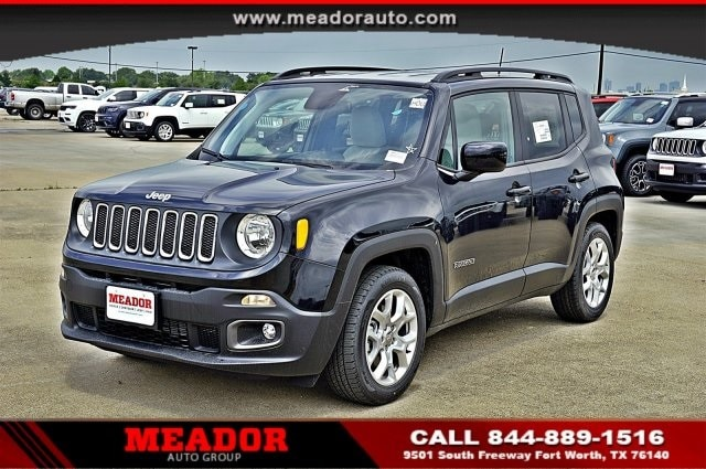 Delightful New 2018 Jeep Renegade LATITUDE 4X2 Sport Utility For Sale Fort Worth, TX