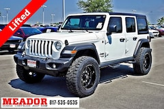 New 2018 Jeep Wrangler UNLIMITED SPORT 4X4 Sport Utility in Fort Worth, TX