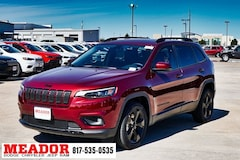 New 2019 Jeep Cherokee ALTITUDE FWD Sport Utility 1C4PJLLB8KD387774 in Fort Worth, TX