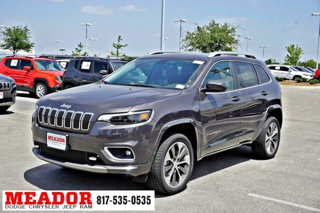 Jeep Cherokee Overland >> New 2019 Jeep Cherokee Overland 4x4 Sport Utility Fort Worth