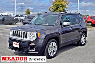 New 2018 Jeep Renegade LATITUDE 4X2 Sport Utility for sale in Fort Worth, TX