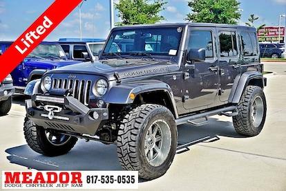 Jeep Wrangler Jk >> New 2018 Jeep Wrangler Jk Unlimited Golden Eagle 4x4 Sport Utility Fort Worth Tx Vin 1c4bjwdgxjl872279
