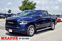 New 2019 Ram 1500 BIG HORN / LONE STAR CREW CAB 4X2 5'7 BOX Crew Cab 1C6RREFT0KN635194 in Fort Worth, TX