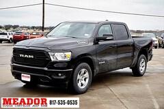 New 2019 Ram 1500 BIG HORN / LONE STAR CREW CAB 4X2 5'7 BOX Crew Cab 1C6RREFT8KN684904 in Fort Worth, TX