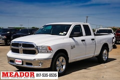 New 2019 Ram 1500 Classic TRADESMAN QUAD CAB 4X2 6'4 BOX Quad Cab 1C6RR6FGXKS627968 in Fort Worth, TX