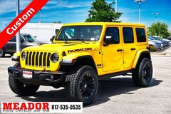 New 2019 Jeep Wrangler UNLIMITED RUBICON 4X4 Sport Utility in Fort Worth, TX
