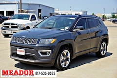 New 2018 Jeep Compass LIMITED FWD Sport Utility 3C4NJCCB4JT502984 in Fort Worth, TX
