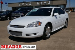 Bargain Used 2014 Chevrolet Impala Limited LT Sedan in Fort Worth, TX